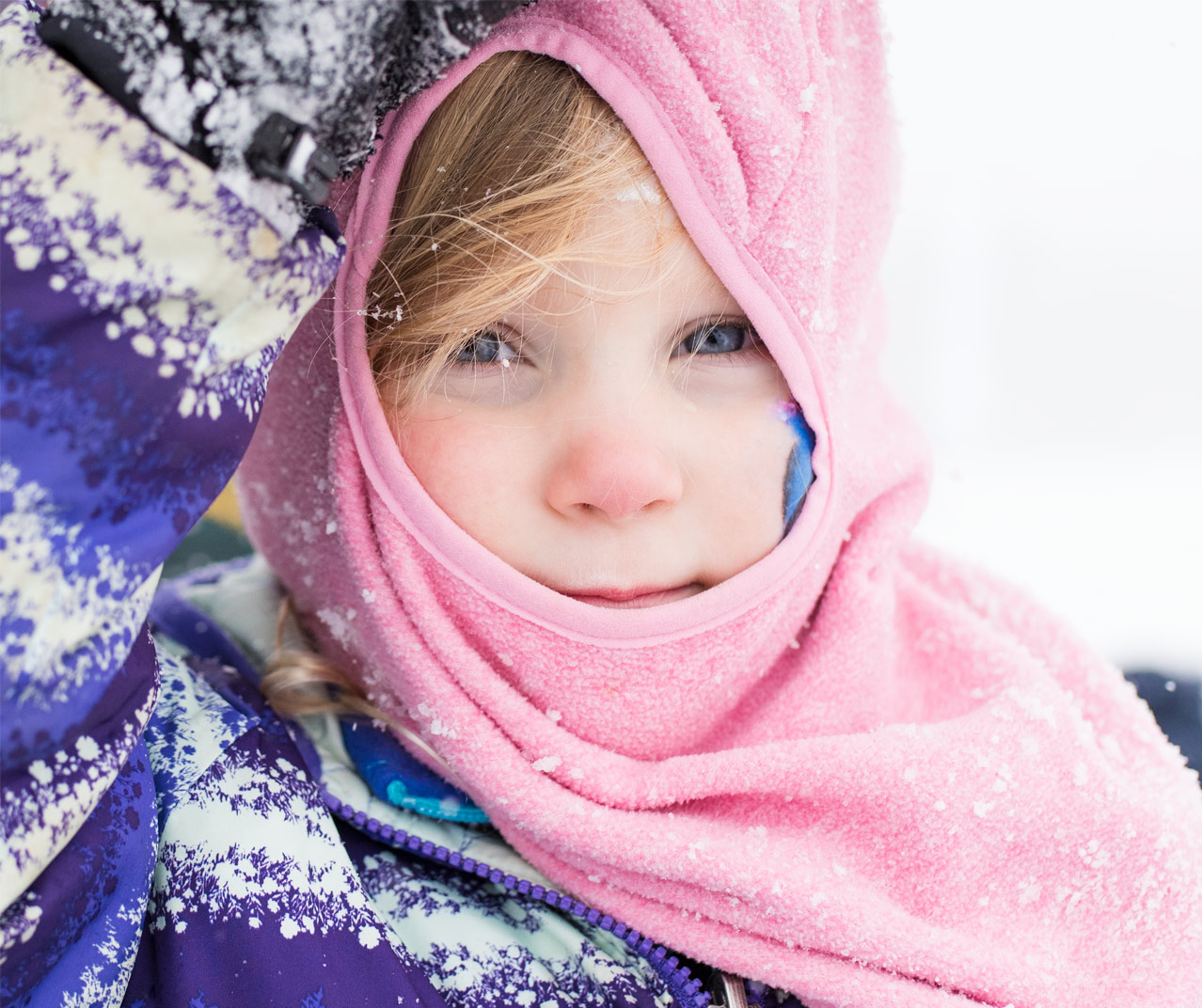 Portrait Kids Winter Rowan